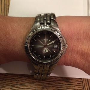 Fossil stainless steel authentic Watch